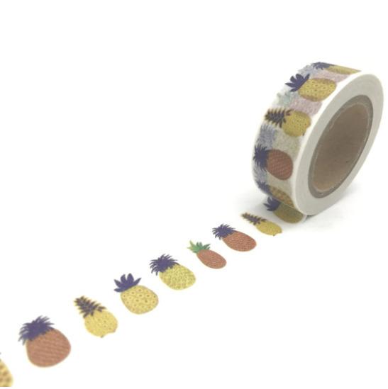 Ananas - Masking tape 10m