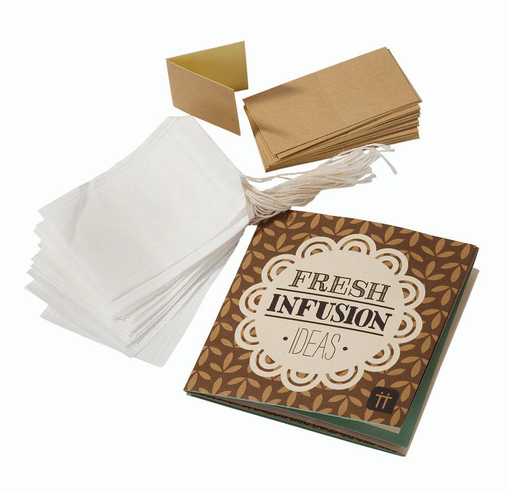 Kit pour fabriquer ses propres sachets de th les kits - Fabriquer des sachets de the ...