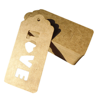 """""""Love"""" - 6 étiquettes en carton"""