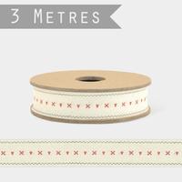 """Vintage"" - 3m de ruban coton"