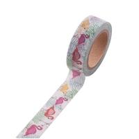 """Summer"" - Masking tape flamant rose"