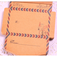 """Air mail"" - Bloc notes de petites enveloppes ""Italie"""