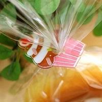 """""""Gâteau"""" - 10 fermetures pour sachet"""
