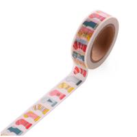 """Chaussettes"" - Masking tape Noël"