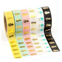 """""""Ananas"""" - Masking tape pastel"""