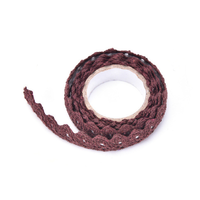 """Lace tape"" - Masking tape en dentelle marron"