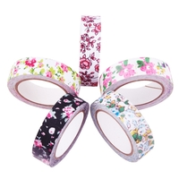 """Fleur"" - Masking tape en tissu"