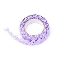 """Lace tape"" - Masking tape en dentelle violette"