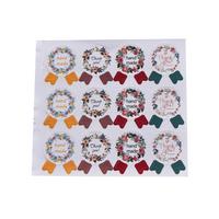 """""""Médaille"""" - 12 stickers handmade"""
