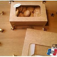 """""""Biscuits"""" - Boite patissière avec fenêtre grand modèle"""