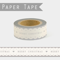 """Merry Christmas"" - Masking tape vintage"