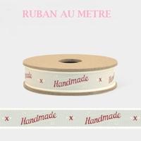 """Handmade"" - 1m de ruban fait main"