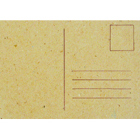 """Carton"" - Carte postale vierge"