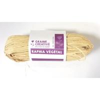 """Vegetal"" - Bobine de raphia naturel"