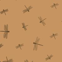 """""""Libellule"""" - 5 feuilles de joli papier de soie"""