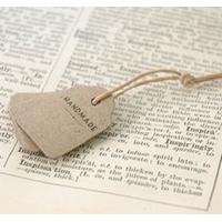 """""""Vintage"""" - 10 petites étiquettes handmade"""