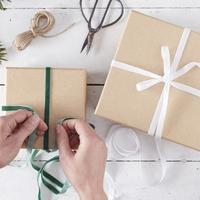 Kit pour faire un paquet cadeau vintage