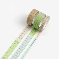 """Bullet journal"" - 3 masking tapes (24m)"