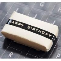 """Happy Birthday"" - 25m de ruban adhésif déco"