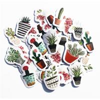 """""""Cactus"""" - 45 autocollants tropicaux"""