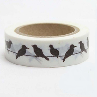 """Oiseaux"" - Masking tape hirondelle"