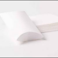 100 boites déco en carton blanc