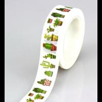 """Cactus"" - Masking tape 10m"