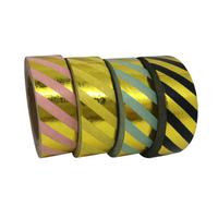 """Rayures"" - Masking tape métallique"