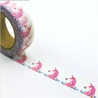 """Dream"" - Masking tape avec une licorne"