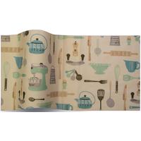 """""""Kitchen"""" - 5 feuilles de papier de soie vintage"""
