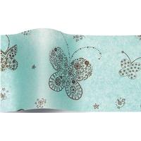 """""""Butterfly"""" - 5 feuilles de papier de soie avec des papillons"""