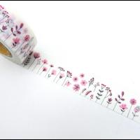 """""""Printemps"""" - Masking tape avec des fleurs"""