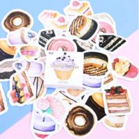 """""""Cupcake"""" - 45 autocollants avec des gâteaux"""