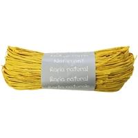 """""""Pelote"""" - Raphia naturel jaune"""
