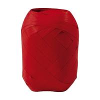 """Oeuf"" - Ruban bolduc rouge mat"