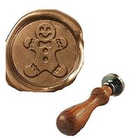 """""""Gingerman"""" - Sceau bonhomme pain d'épice"""