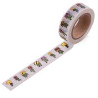 """Doré"" - Masking tape cactus"
