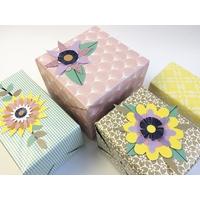 """""""Fleurs"""" - Kit paquet cadeau"""