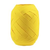 """Oeuf"" - Ruban bolduc jaune mat"