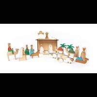 """""""Nativité"""" - Joli calendrier de l'Avent en bois"""
