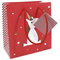 """Noël"" - Joli petit sac licorne"
