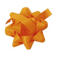 """Déco"" - Noeud adhésif orange"