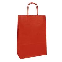 """""""Kraft"""" - 25 sachets en papier rouge"""