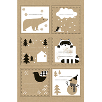"""Noël"" - 52 stickers assortis"