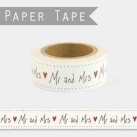 """Mariage"" - Jolie masking tape"