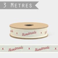 """Handmade"" - 3m de ruban Fait main"