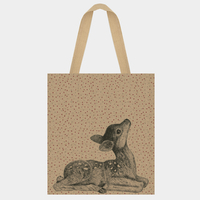 """Shopping bag"" - Grand sac en jute faon"