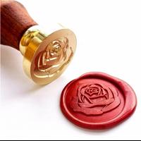 """""""Rose"""" - Sceau pour cachet de cire"""