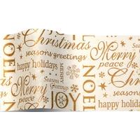 """""""Noël"""" - Papier de soie avec des paillettes"""