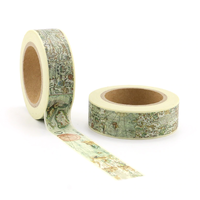 """World"" - Masking tape carte du monde"